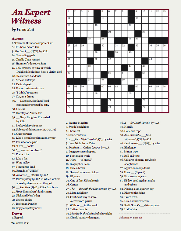 self proclaimed expert crossword - 594×756