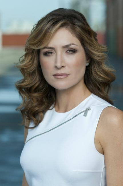 Sasha Alexander plays Dr. Maura Isles on Rizzoli and Isles