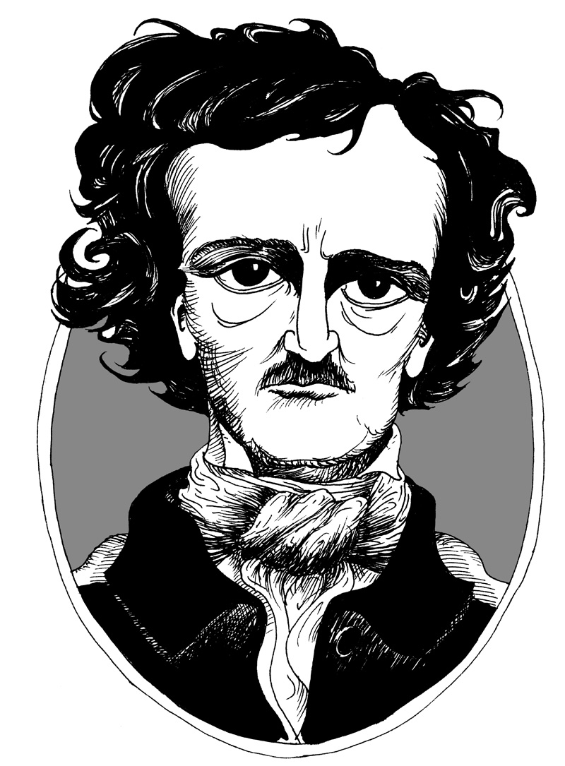 the influences in the writing style of edgar allan poe Edgar allan poe also invented the detective novel: he was also the first well-known american author to try to earn a living through writing alone.